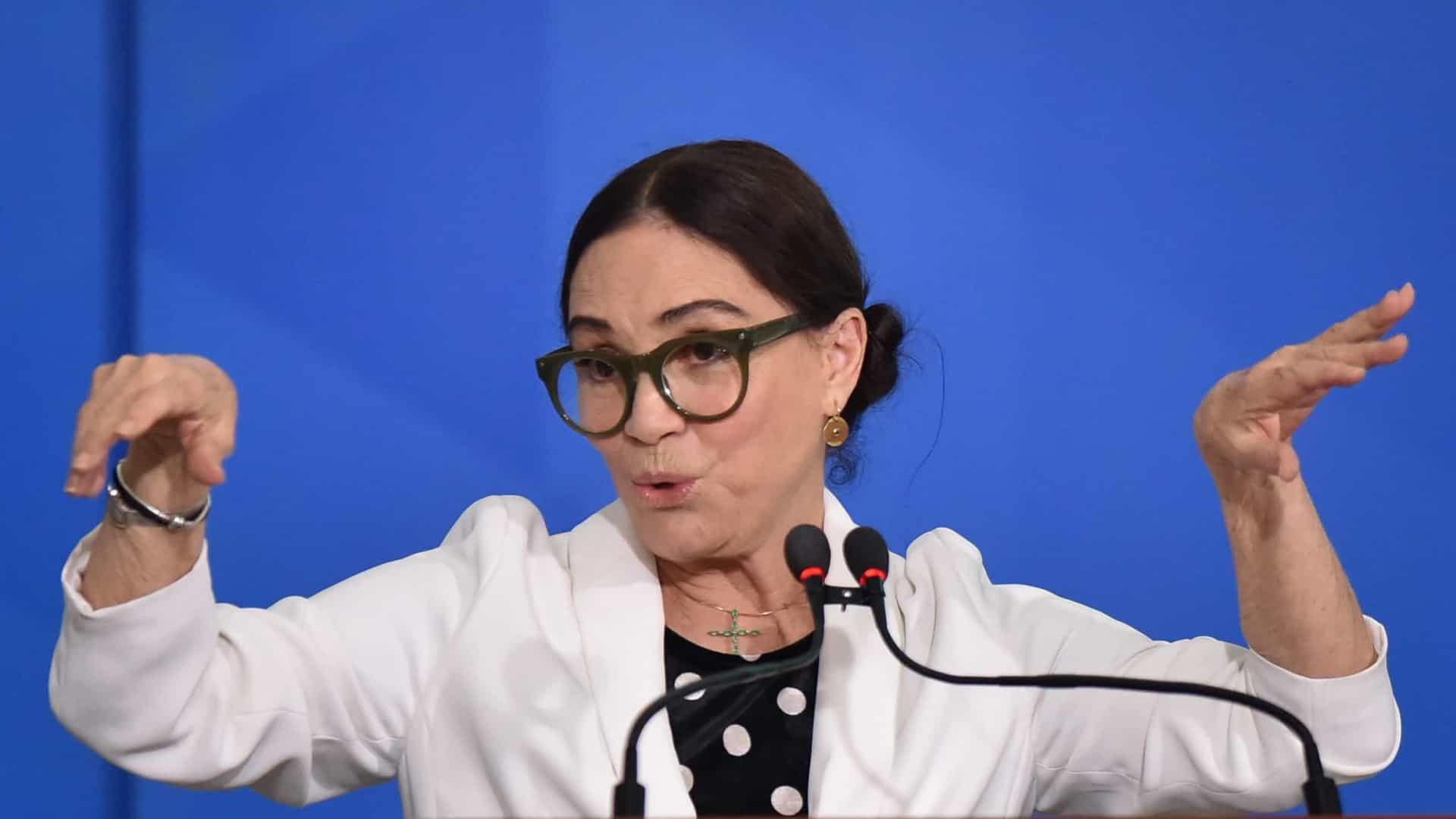 Secretária de Cultura, Regina Duarte. (Foto: Getty Images)