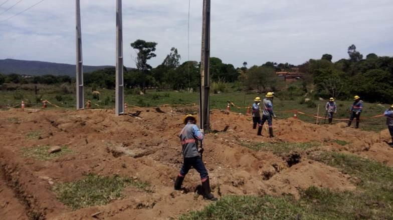 Com essas melhorias estruturais, cerca de 150 mil clientes da zona rural já tiveram melhora no fornecimento de energia. (Reprodução/Enel Goiás)
