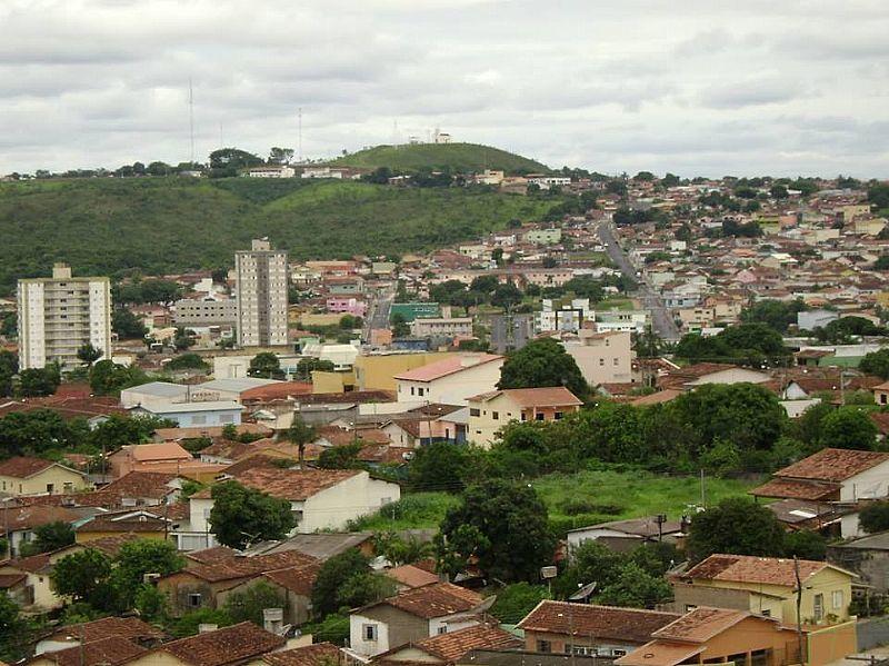 Panorâmica da cidade de Catalão, sudeste de Goiás. (Foto/Reprodução)
