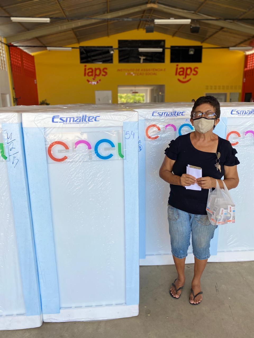 Moradores do Balneário Meia Ponte poderão trocar 60 geladeiras (Ascom Enel)