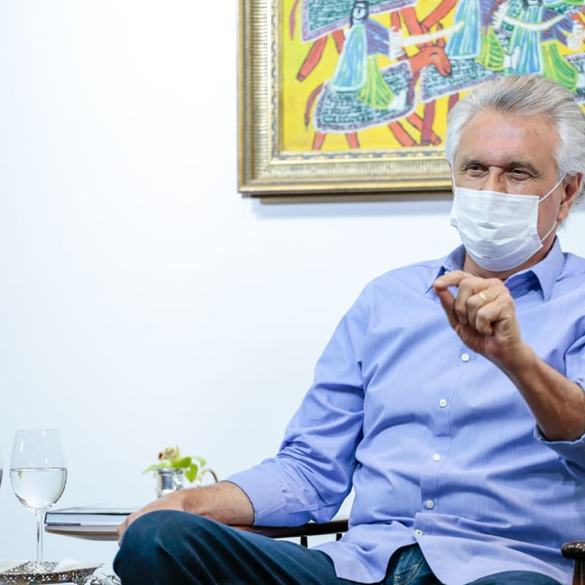 Governador de Goiás, Ronaldo Caiado. (Reprodução: Vinícius Schmidt)