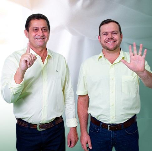 Junior e Danilo (Reprodução Sdnews)