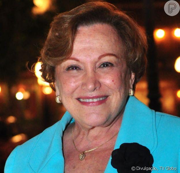 A atriz Nicette Bruno morreu na manhã deste domingo (Reprodução)