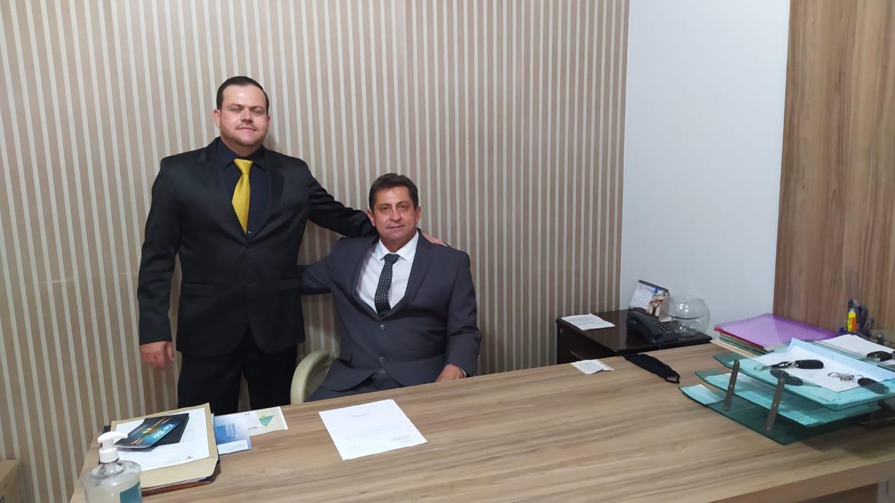 O prefeito Junior Pimenta, o vice Danilo Araújo e a equipe começam a cumprir compromissos de campanha já nos primeiros 35 dias de gestão (Sdnews)