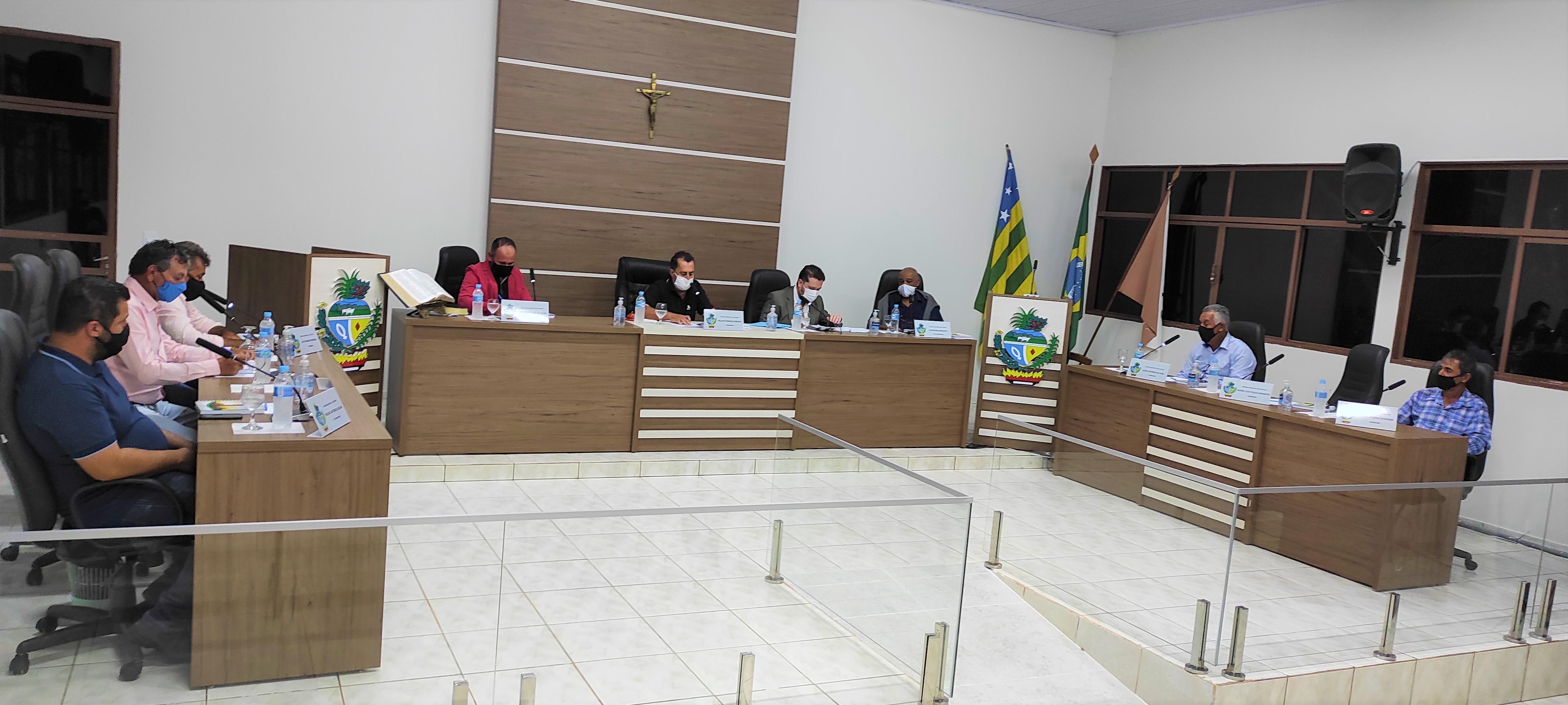 Ouvidor: 2ª Sessão da Câmara conta com a presença do prefeito Cebinha Machado Nascimento