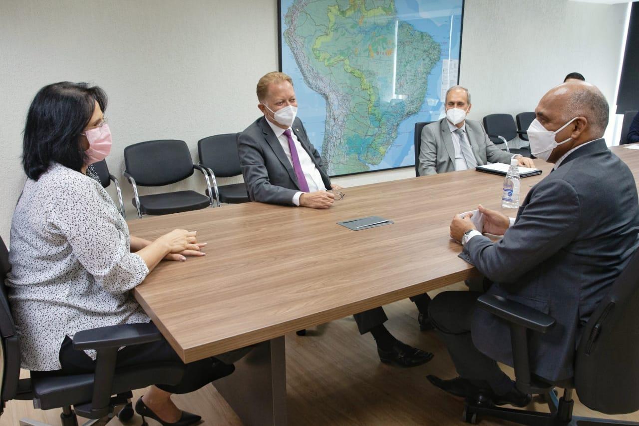 Reunião no Ministério da Mulher   Foto: Willian Meira/MMFDH