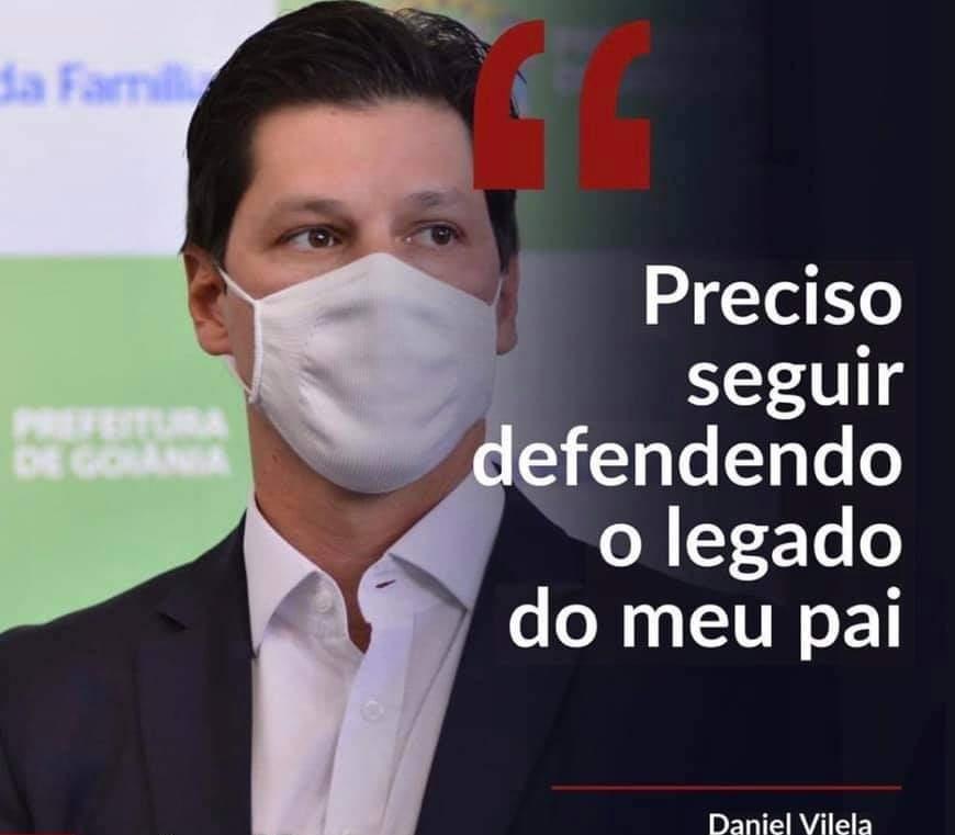 Presidente estadual do MDB, Daniel Vilela, anunciou saída de 14 secretários da Prefeitura de Goiânia após reforma administrativa de Rogério Cruz