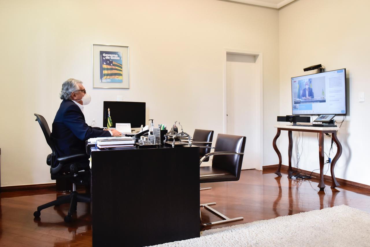 Governador Ronaldo Caiado participa do Encontro Estadual de Governança Turística, promovido em parceria entre Goiás Turismo e Sebrae
