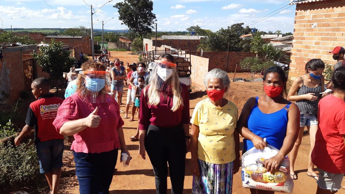 Frente tarefa de vulnerabilidade no Bairro São Domingos e na Ocupação Mãos de Deus, região Noroeste da capital
