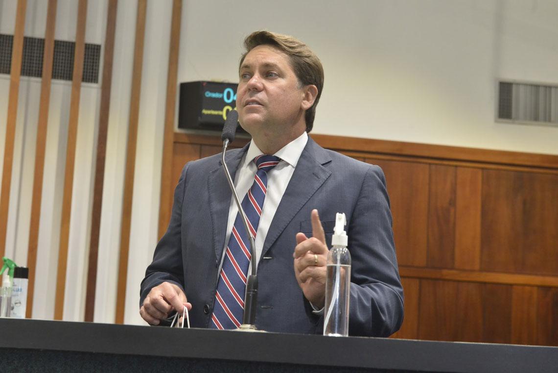 Líder do Governo, deputado estadual Bruno Peixoto (MDB)