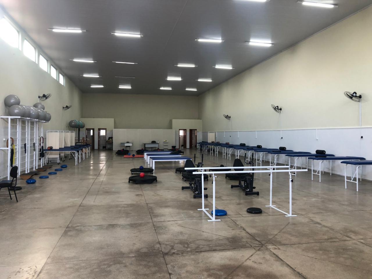 Centro de Reabilitação Esporte e Saúde (CRES), localizado na Rua Senador Osires Teixeira, qd.2h; lote 21, Jardim Todos os Santos, Senador Canedo - GO.Horário de atendimento: segunda a sexta-feira, das