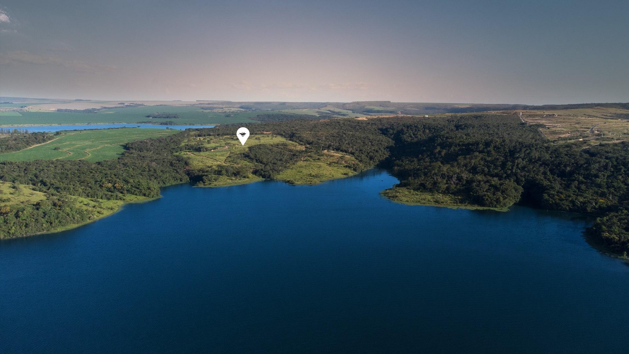 Fazenda Canoa vai abraçar a beleza exuberante do Lago Corumbá IV Fazenda Canoa vai abraçar a beleza exuberante do Lago Corumbá IV / Divulgação Divulgação