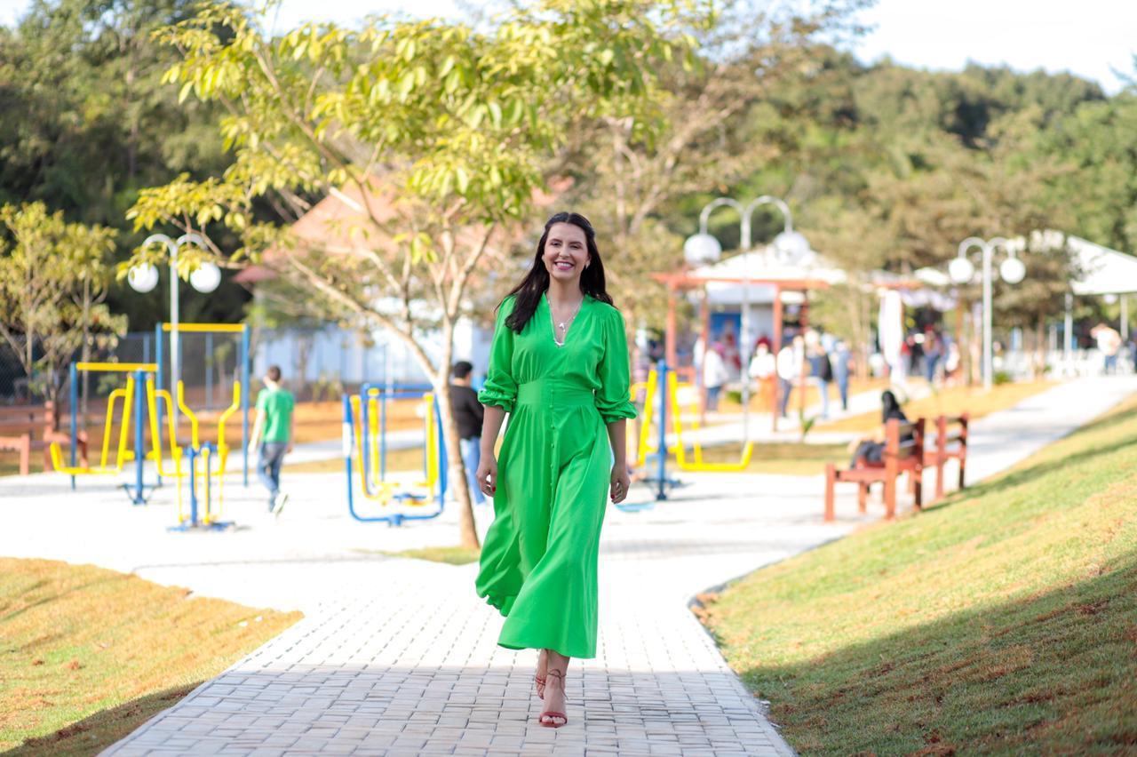 Horto Florestal Orismundo Peixoto dos Santos é um Parque Ambiental, que fica no setor Via Flores.