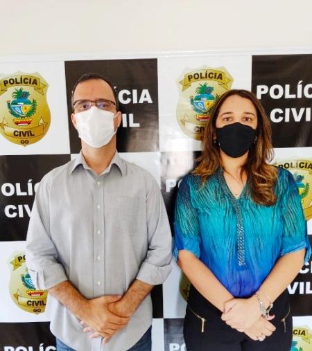 Delegada assumiu na última segunda-feira (07.06) a titularidade da 1ª Delegacia Distrital de Polícia de Catalão.