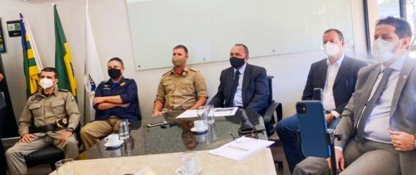 Dados do Observatório de Segurança Pública foram apresentados na manhã desta quinta-feira (08) pelo secretário de Estado da Segurança Pública, Rodney Miranda, na sede da secretaria (Foto: SSP-GO)
