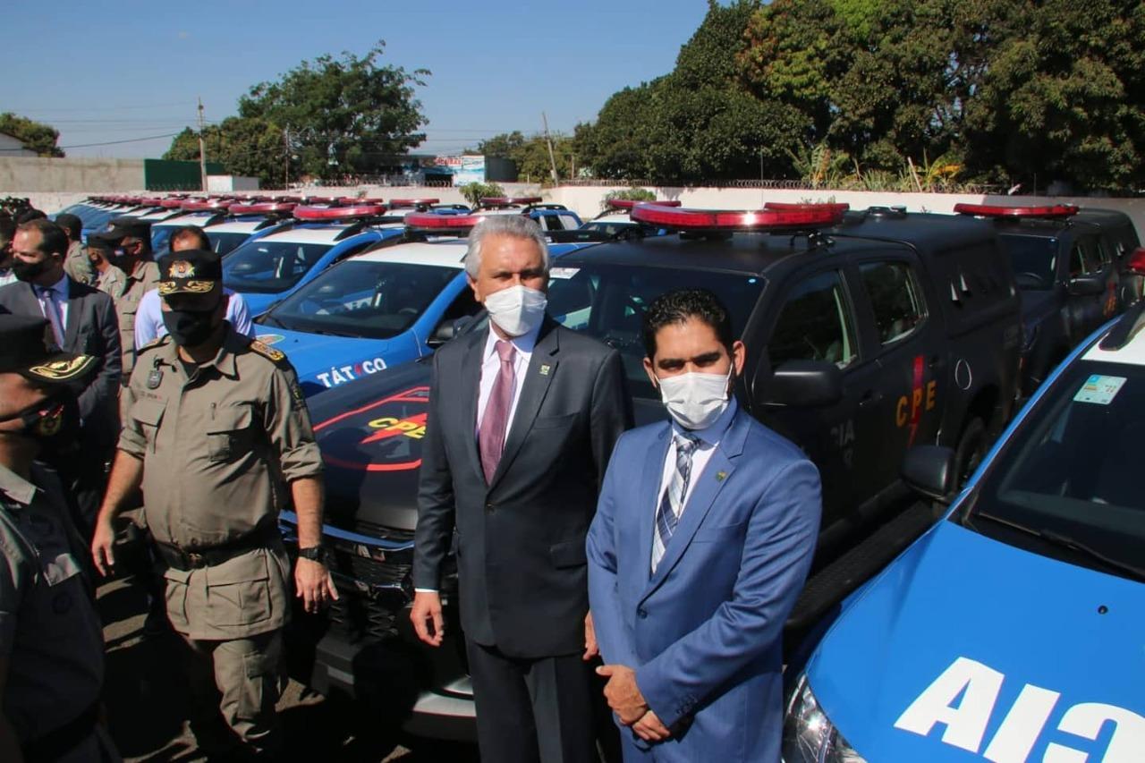 Para vice-governador Lincoln Tejota, a segurança foi o carro-chefe da gestão Caiado para puxar o desenvolvimento das demais áreas de Goiás