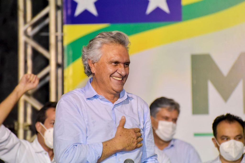 Governador Ronaldo Caiado (Reprodução/Arquivo)